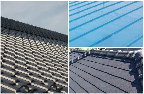屋根材3種類