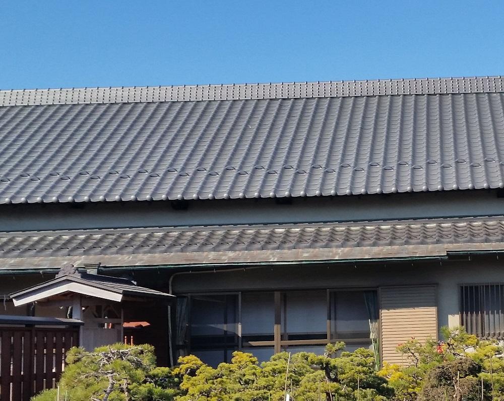 富士見市K様邸葺き替え工事
