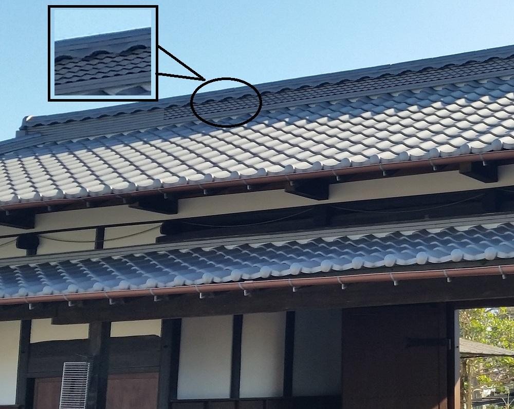 富士見市K様邸 長屋門葺き替え