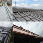 埼玉県所沢市で棟取り直し工事と雨樋交換工事です。
