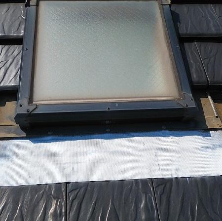 天窓の既存の水切りの画像
